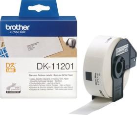 Brother DK-11201 Adressetiketten, 29x90mm, weiß, 1 Rolle (DK11201)