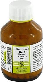 Nestmann Biochemie 1 Calcium fluoratum D12 Tabletten, 400 Stück
