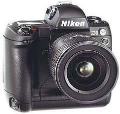 Nikon D1 schwarz Gehäuse