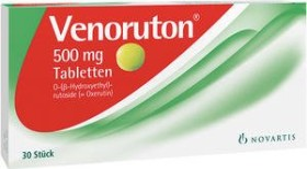 Novartis Venoruton 500mg Tabletten, 30 Stück