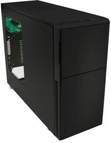 Nanoxia Deep Silence 2 schwarz, Acrylfenster, schallgedämmt (NXDS2BW)