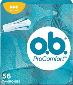 o.b. Pro Comfort normal tampons, 56 pieces