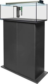 sera AquaTank 96l fiXture Aquarium-Set mit 100cm Unterschrank, Black (32461)