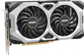 MSI GeForce RTX 2060 Ventus GP OC, 6GB GDDR6, HDMI, 3x DP (V375-231R)