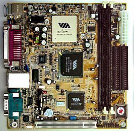 VIA (VPSD) EPIA 8000, Mini-ITX (VT6010) (SDR)