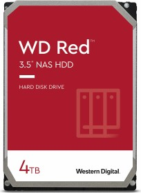 Western Digital WD Red 4TB, SATA 6Gb/s (WD40EFAX)