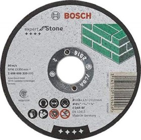 Bosch C24RBF stone Expert cut-off wheel 115x2.5mm, 1-pack (2608600320)