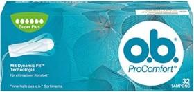 o.b. Pro Comfort Super Plus tampons, 32 pieces