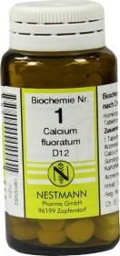 Nestmann Biochemie 1 Calcium fluoratum D12 Tabletten, 100 Stück