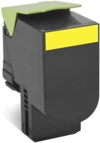 Lexmark Toner 800X4 gelb extra hohe Kapazität (80C0X40)