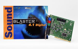 Creative Sound Blaster 4.1 digital, retail
