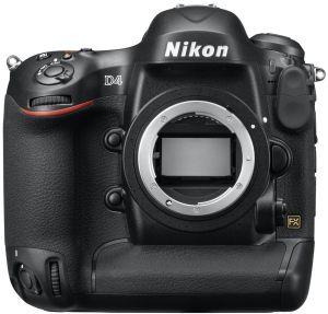 Nikon D4 schwarz Gehäuse (VBA320AE)