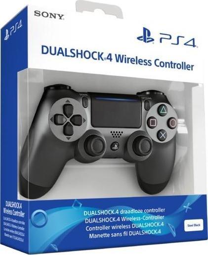 Sony DualShock 4 2.0 controller wireless steel black (PS4)