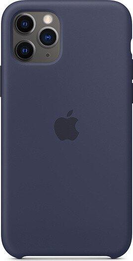 Apple Silikon Case für iPhone 11 Pro mitternachtsblau (MWYJ2ZM/A)