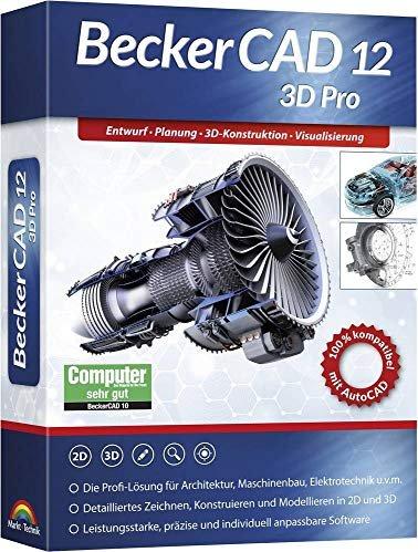 Markt+Technik BeckerCAD 12 3D Pro (deutsch) (PC) -- via Amazon Partnerprogramm