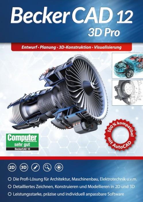 Markt+Technik BeckerCAD 12 3D Pro, ESD (deutsch) (PC) -- von notebooksbilliger.de