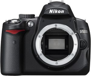 Nikon D5000 (SLR) body (VBA240AE)