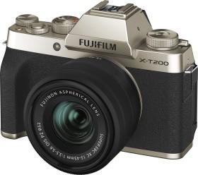 Fujifilm X-T200 gold mit Objektiv XC 15-45mm 3.5-5.6 OIS PZ (16646430)