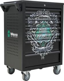 Wera Tool Rebel Werkzeugwagen bestückt inkl. 126-tlg. Zubehör (05501051001)