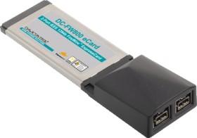Dawicontrol DC FW800 eCard, 2x FireWire 800, ExpressCard/34