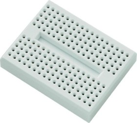 Breadboard, number of pins 170, 46x36mm, white, 5-pack (various Manufacturer)