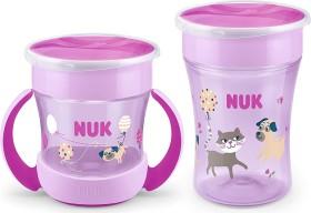 NUK Magic Cup Duo set Cup dog purple, 2-piece. (10225202)