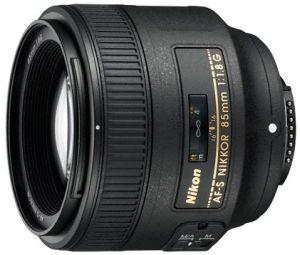 Nikon AF-S 85mm 1.8G schwarz (JAA341DA)