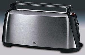 Braun HT 600 Impression Langschlitz-Toaster