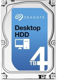 Seagate Desktop HDD 4TB, SATA 6Gb/s (ST4000DM000)