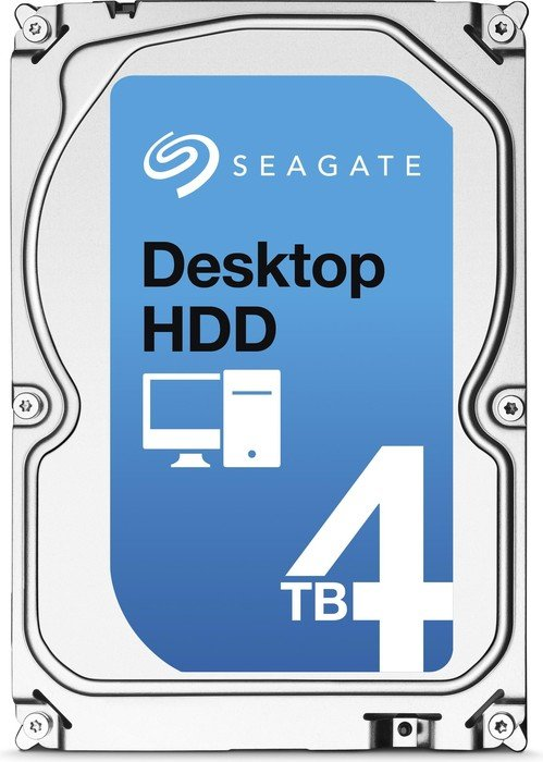 Seagate Desktop HDD  4TB, SATA 6Gb/s (ST4000DM000)