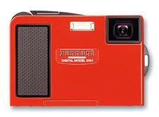 Olympus Camedia AZ-1 Ferrari digital Model red (N1740892)