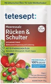 Tetesept Rücken & Schulter Badesalz, 80g
