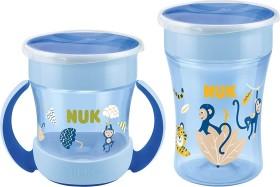 NUK Magic Cup Duo set Cup ape blue, 2-piece. (10225201)