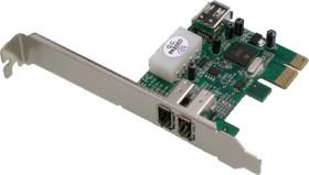 Dawicontrol DC-1394 PCIe, 3x FireWire, retail, PCIe x1