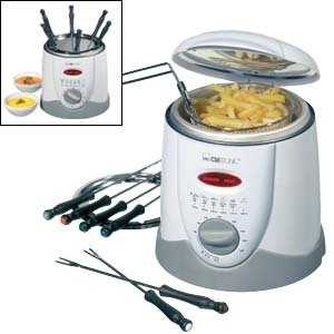 Clatronic FFR2916 fat fryer with fondue
