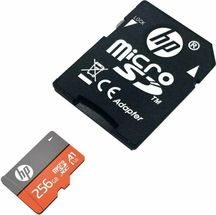 PNY HP mxA1 R100/W85 microSDXC 256GB Kit, UHS-I U3, A1, Class 10 (HFUD256-1V31A)