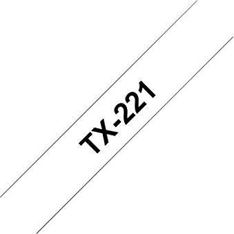 Brother TX-221 9mm, schwarz auf weiß -- via Amazon Partnerprogramm