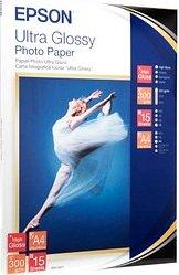 Epson Ultra Fotopapier glänzend, A4, 15 Blatt (S041927)