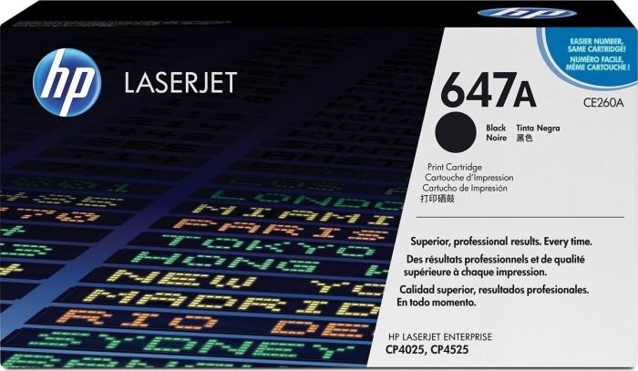 HP Toner 647A schwarz (CE260A)