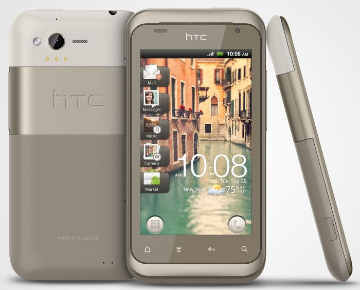 HTC Rhyme grey