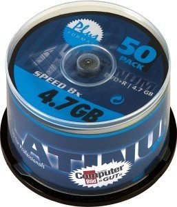 BestMedia Platinum DVD+R 4.7GB 8x, 50-pack Spindle (100018)