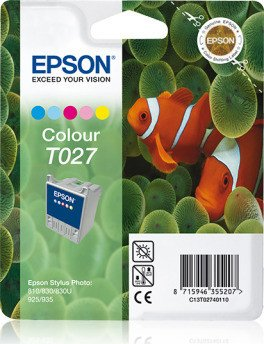 Epson T027 ink coloured (C13T02740110)