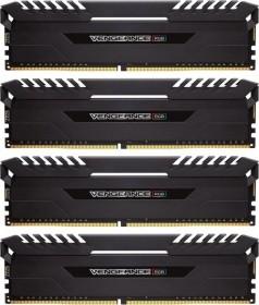 Corsair Vengeance RGB schwarz DIMM Kit 32GB, DDR4-3000, CL16-18-18-36 (CMR32GX4M4C3000C16)