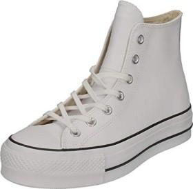 Converse Chuck Taylor All Star Lift Leather High Top weißschwarz (Damen) (561676C) ab € 71,00