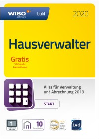 Buhl Data WISO Hausverwalter 2020 Start, 10 Wohneinheiten (deutsch) (PC)