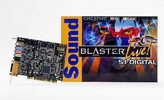 Creative Sound Blaster Live 5.1 digital, retail (70SB022800002)