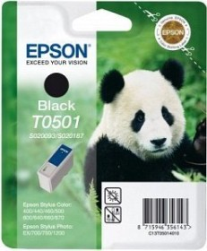 Epson Tinte T0501 schwarz (C13T05014010)