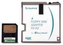 Fujifilm FD-A2 Floppy-Adapter für SmartMedia Cards (40760114)