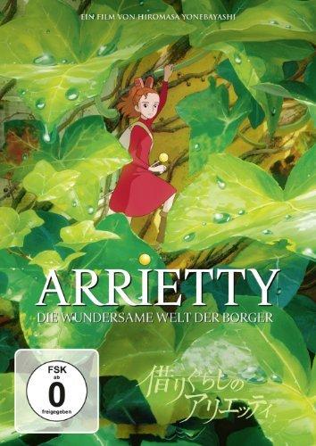 Arrietty - Die wundersame Welt der Borger (DVD) -- via Amazon Partnerprogramm