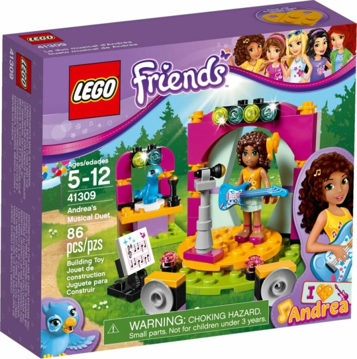 Lego Friends Andreas Musical Duet 41309 Starting From 863